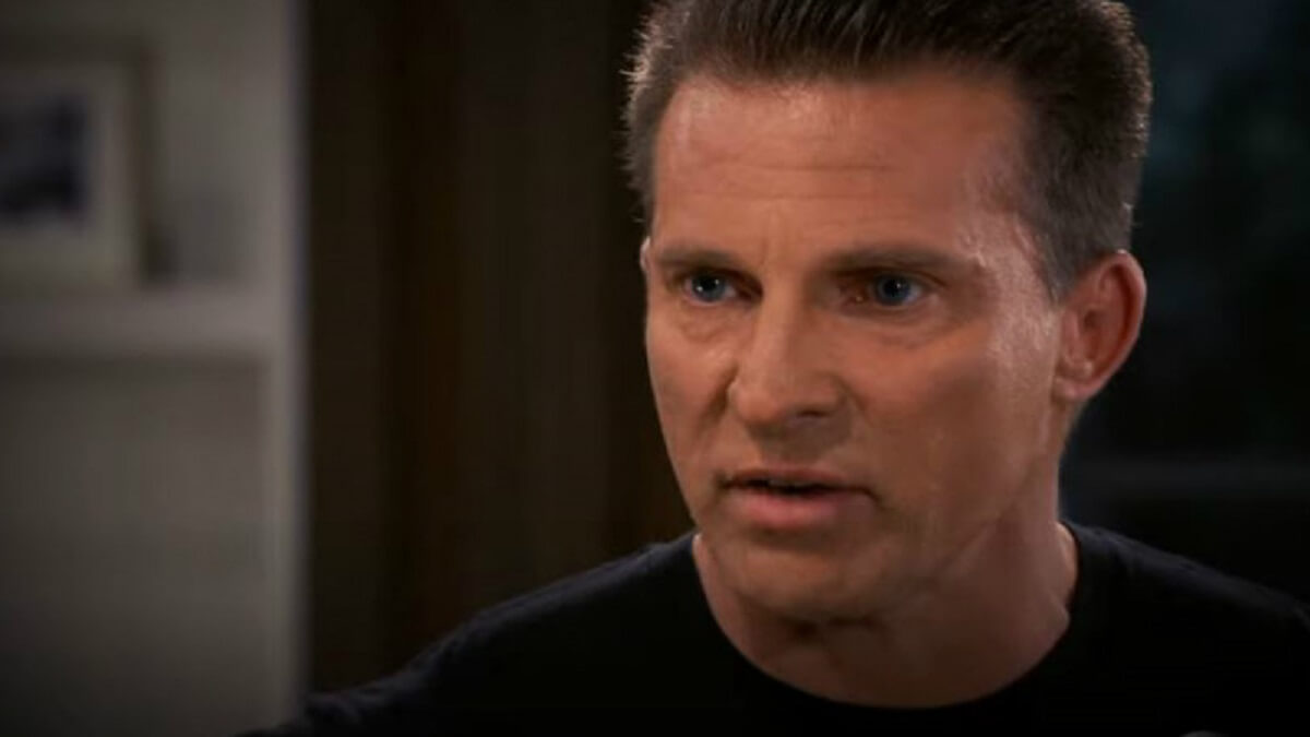 General Hospital star Steve Burton as Jason Morgan.