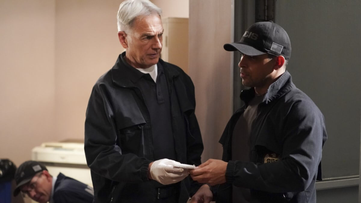 Gibbs And Torres NCIS