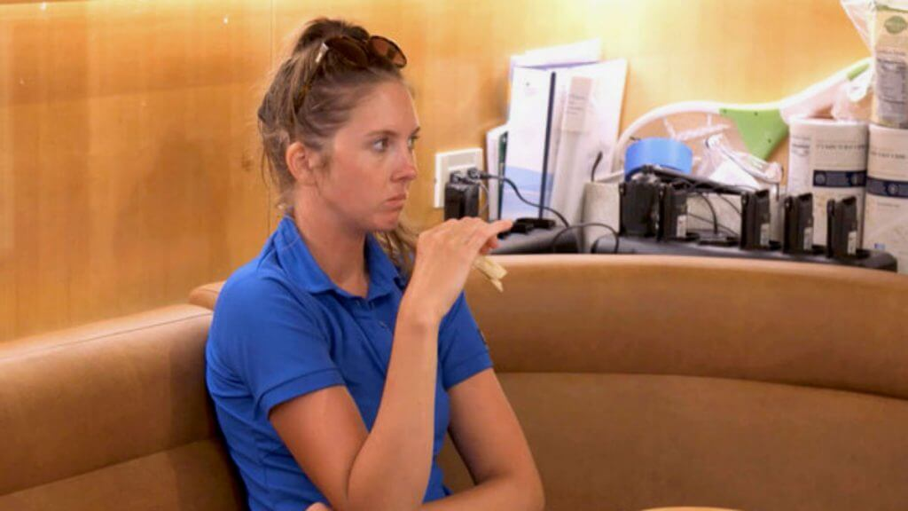 Below Deck fans think Izzy Wouters had COVID on Bravo show.