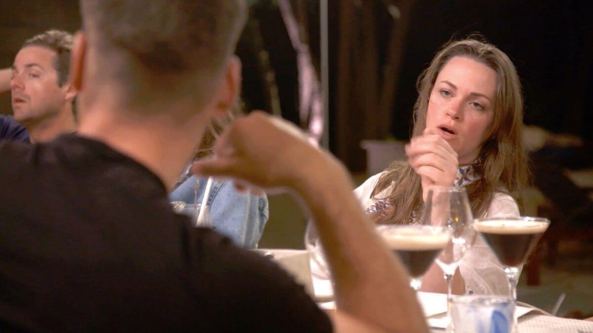 Below Deck: Rachel Hargrove dishes James Hough dinner blowup