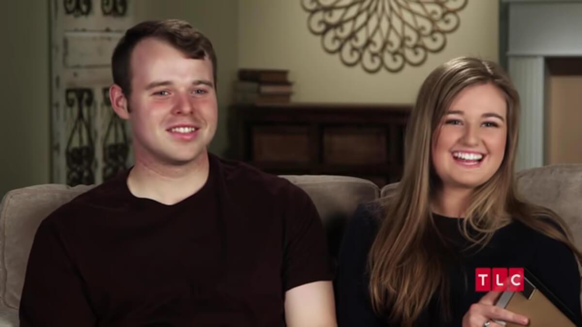Joseph Duggar and Kendra Caldwell.