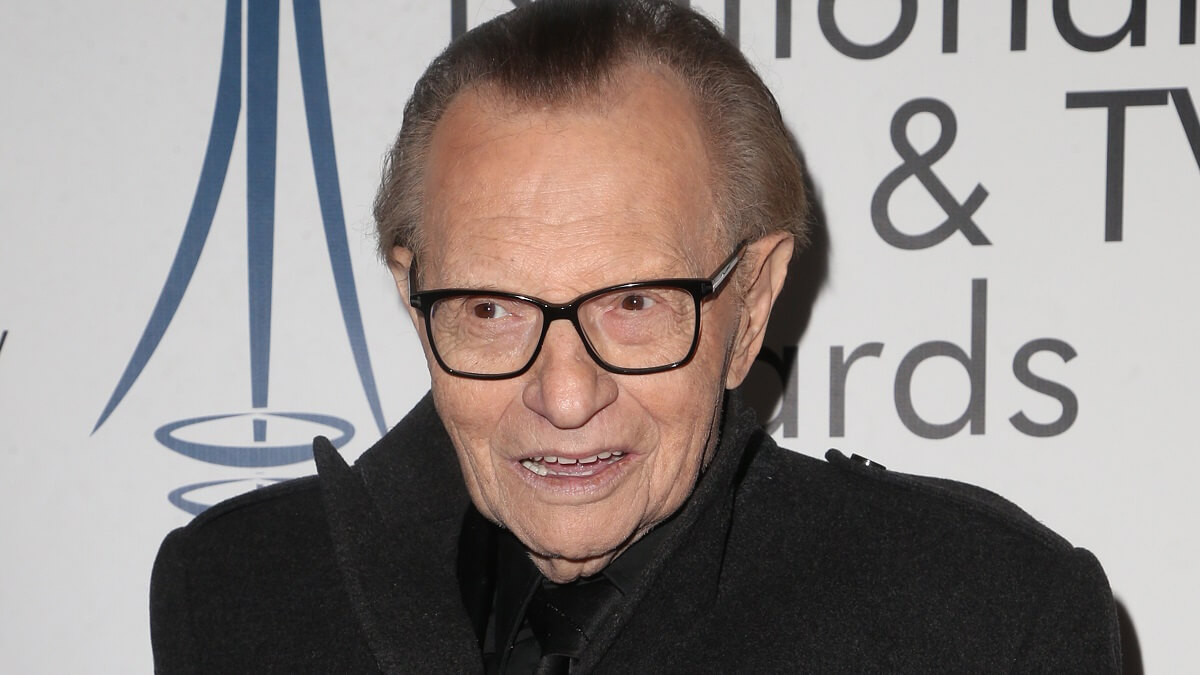 Former CNN talk show host Larry King