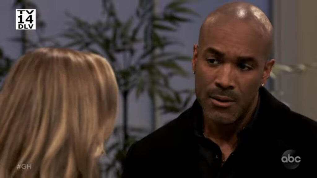 Genie Francis and Donnell Turner on General Hospital.
