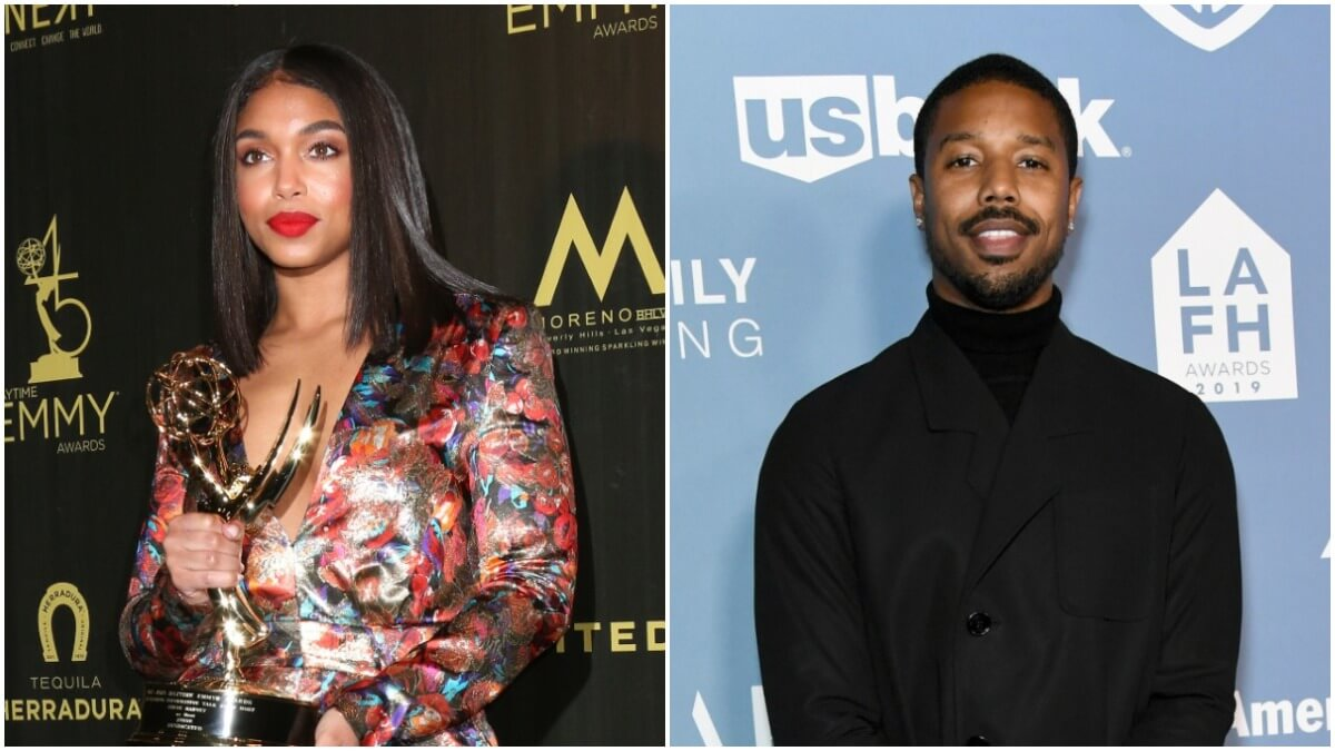 Lori Harvey and Michael B Jordan