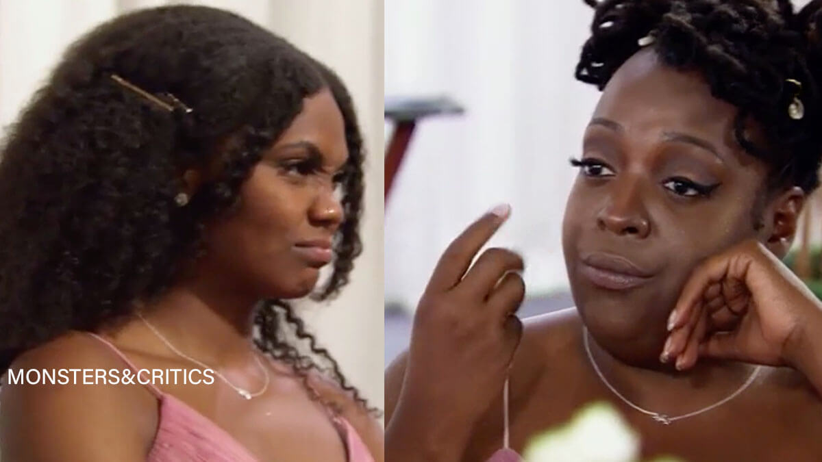 MAFS Season 12 Paige bridesmaids giving disapproving looks of Chris