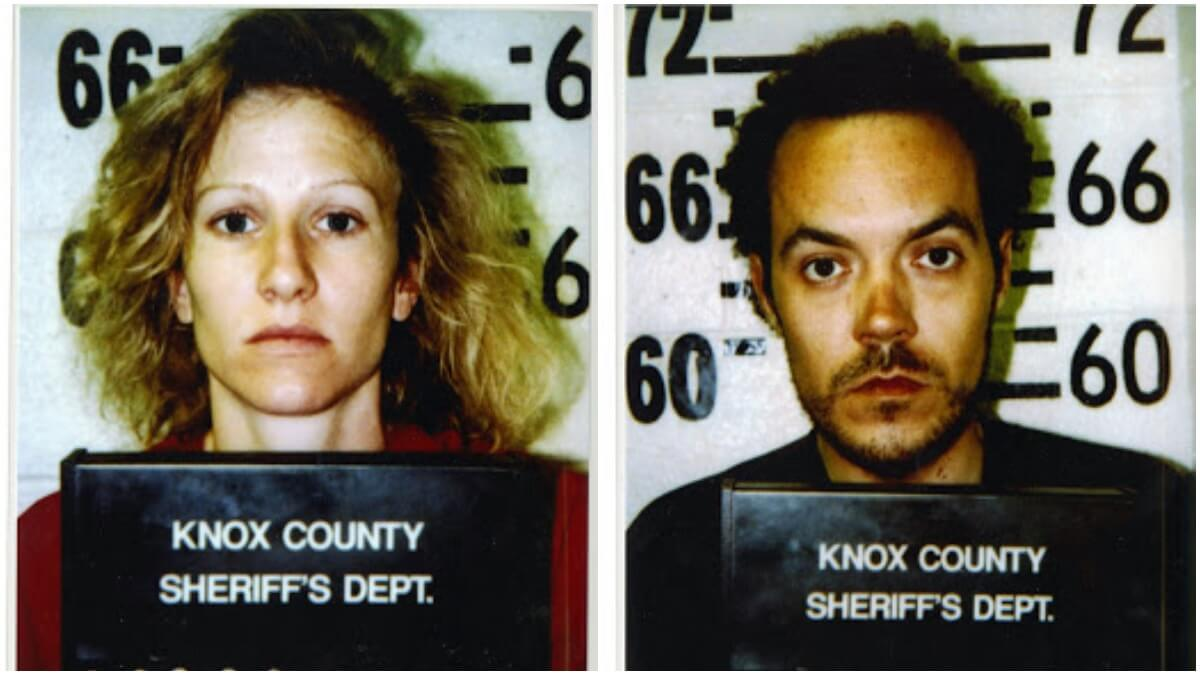 Mugshots of Lisa Whedbee and Michael Frazier