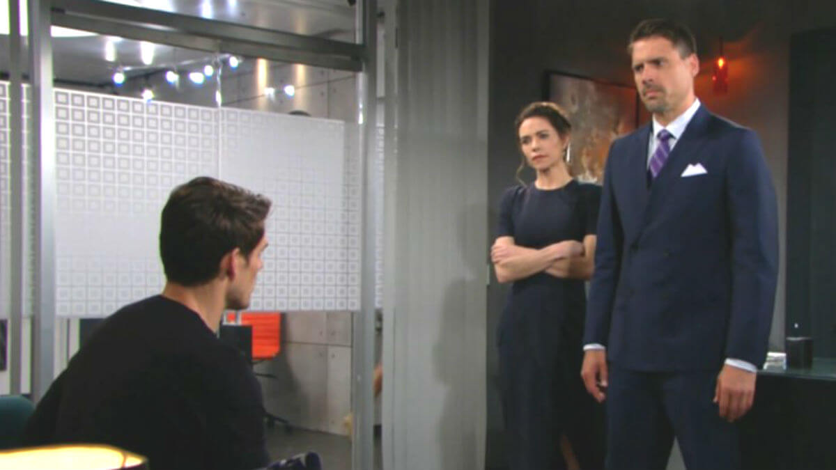 The Young and the Restless spoilers tease the Newman siblings do battle with each other.