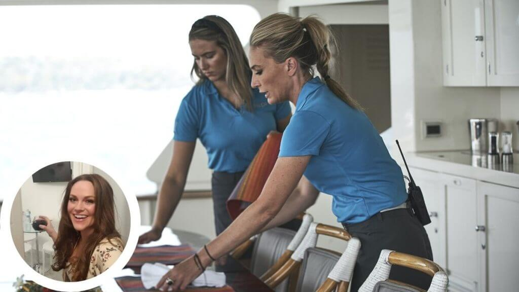 Kate Chastain and Courtney Skippon call out yachting double standard on Below Deck.