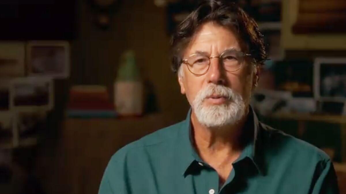 Rick Lagina on the set of Oak Island