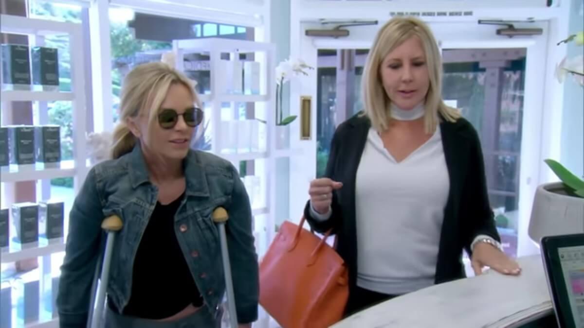 Tamra and Vicki on RHOC.