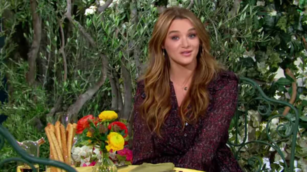 Hunter King as Summer Newman on The Young and the Restless.