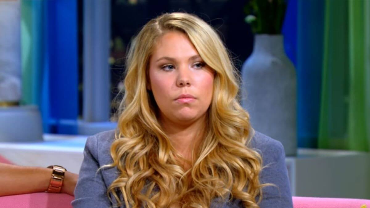 Kail Lowry during a Teen Mom 2 reunion episode