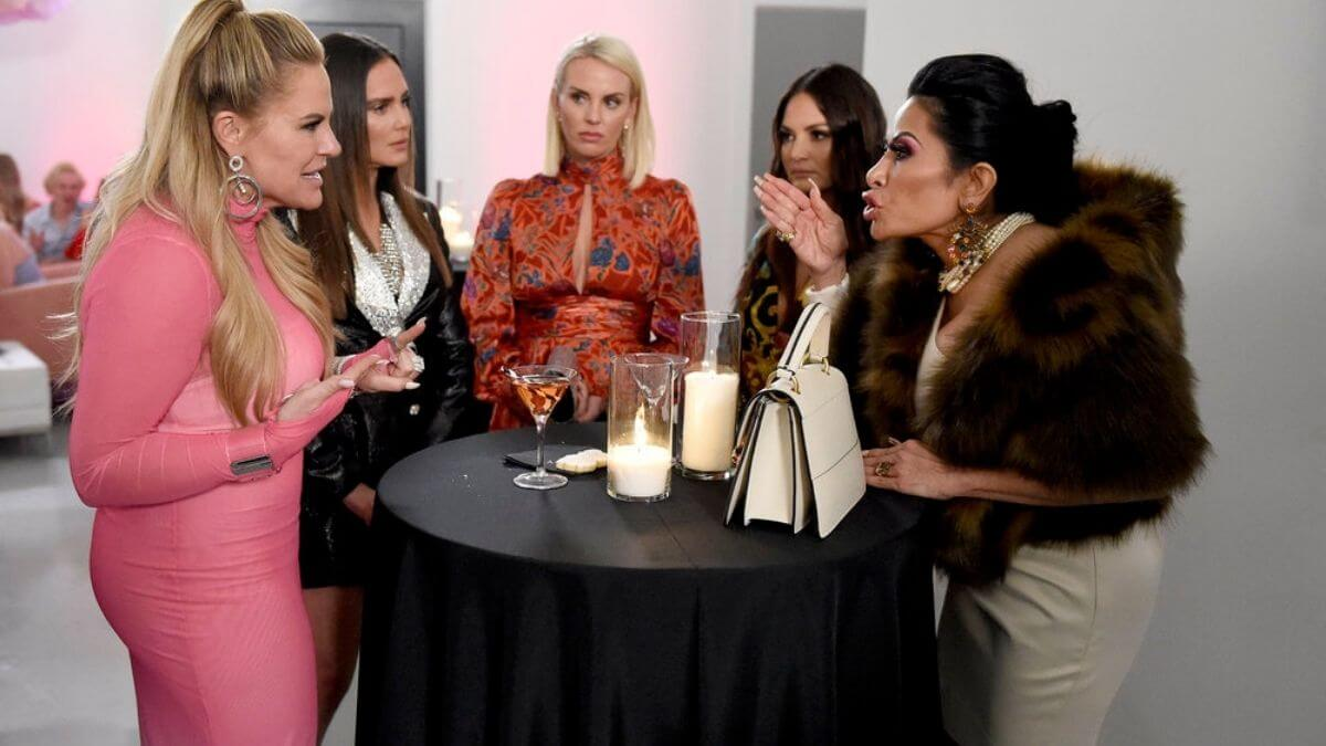 The Real Housewives of Salt Lake City cast films their first reunion