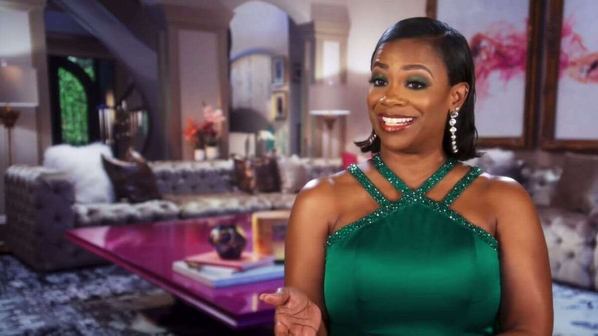 RHOA star Kandi Burruss is happy to have some new drama on the show thanks to the newbies