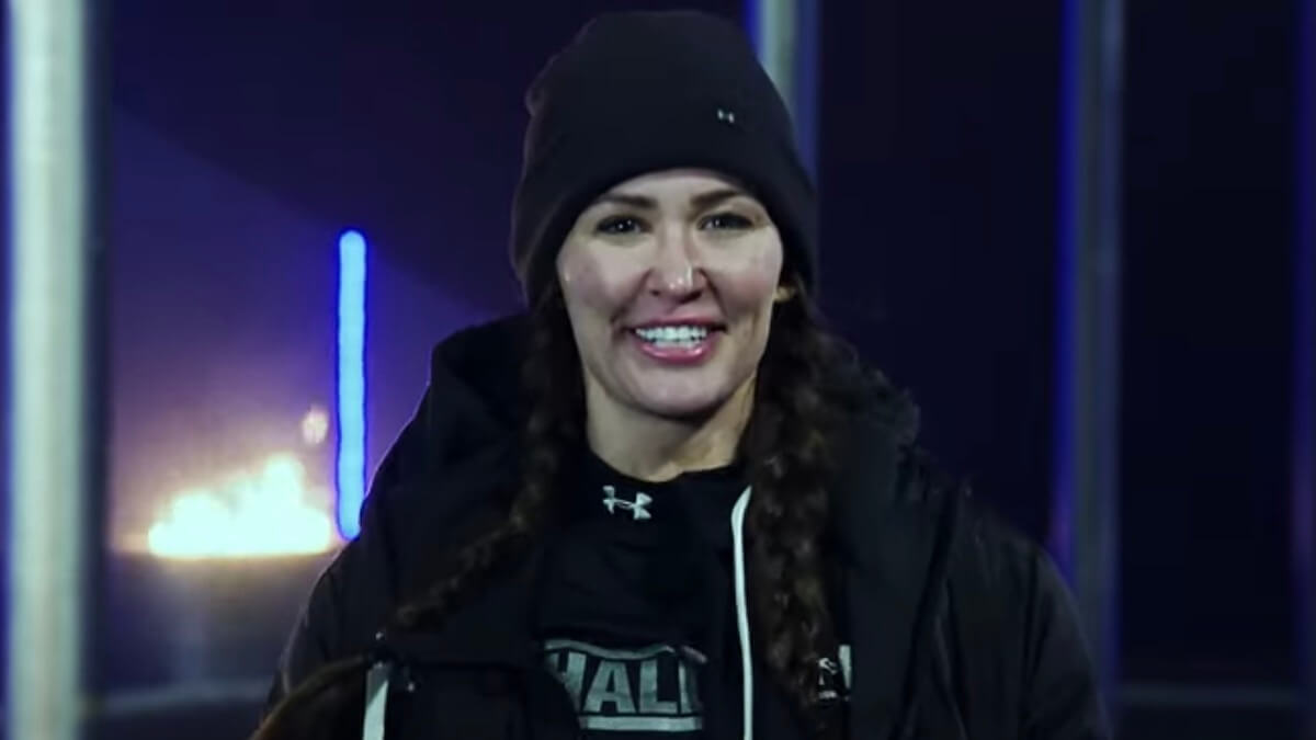 ashley mitchell after her second the challenge double agents elimination