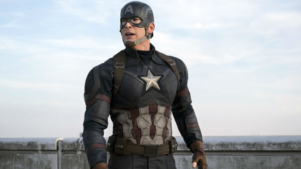 Chris Evans return as Captain America in Civil War.