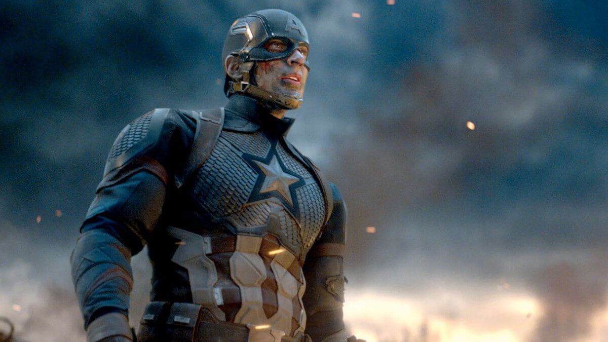 Chris Evans return as Captain America in Avengers: Endgame