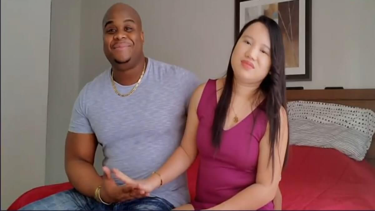 90 Day Fiance's Dean and his fiancee Rigin Bado