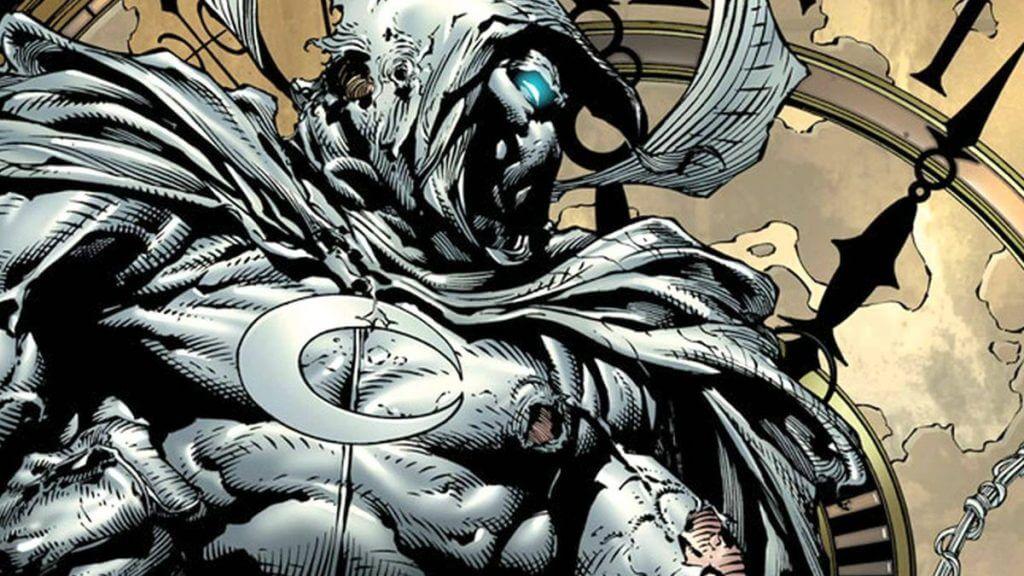 Ethan Hawke in Moon Knight comics.