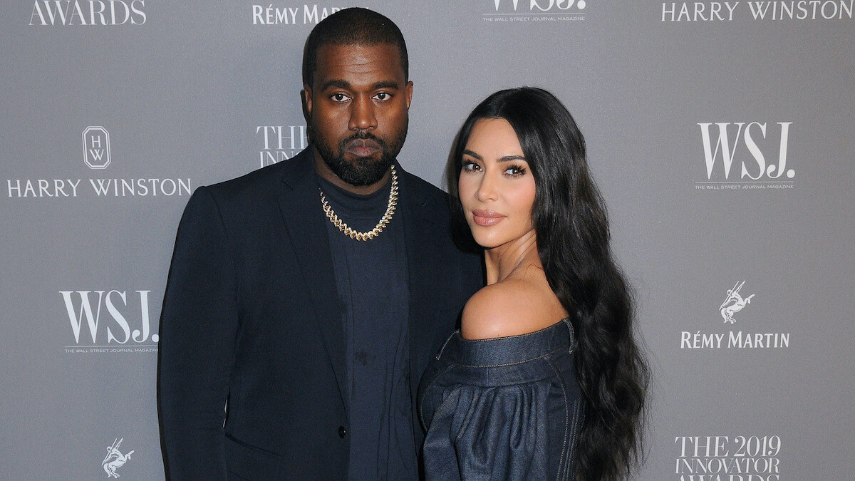 Kanye West and Kim Kardashian at WSJ Magazine 2019 Innovator Awards