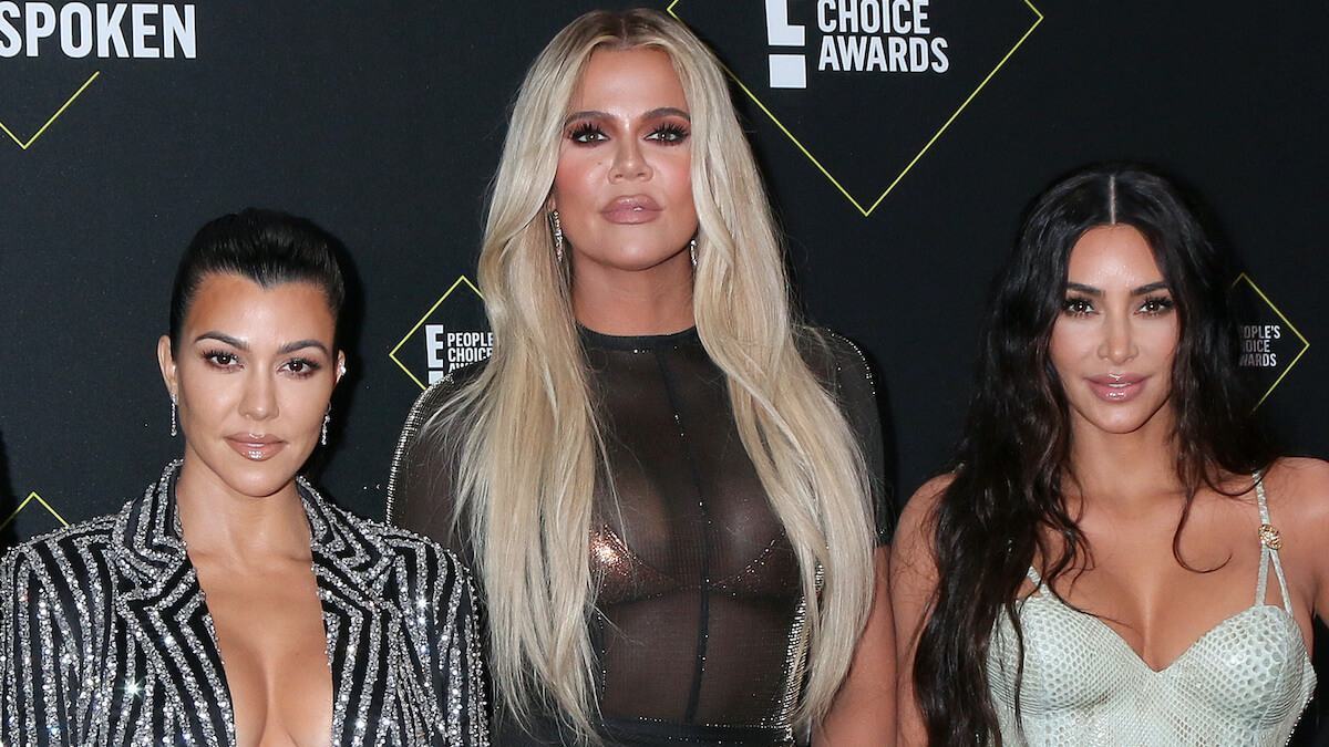 kardashian sisters at 2019 People's Choice Awards in Santa Monica
