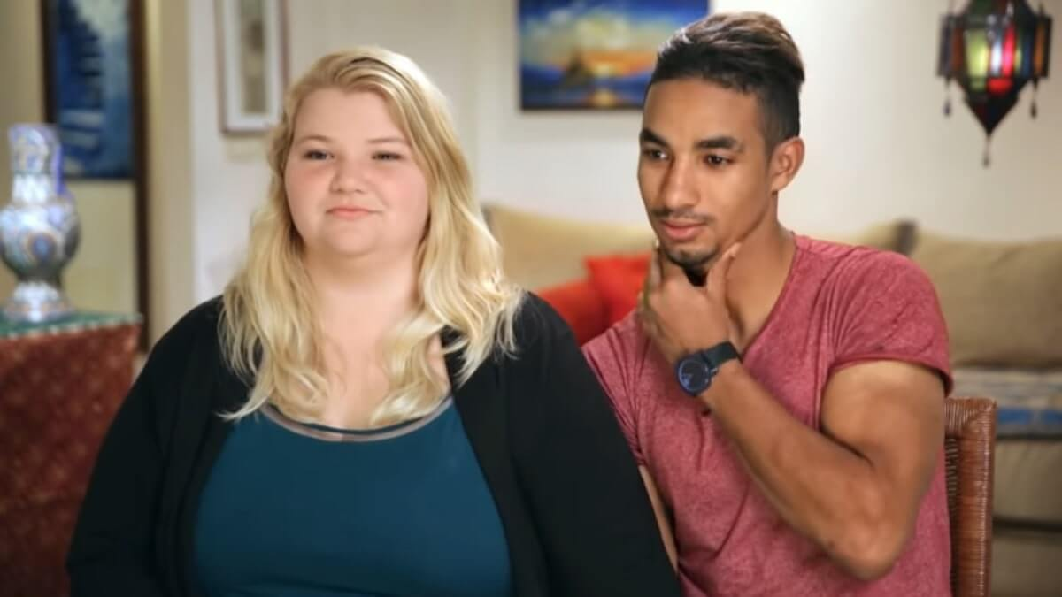 90 Day Fiance couple Nicole and Azan