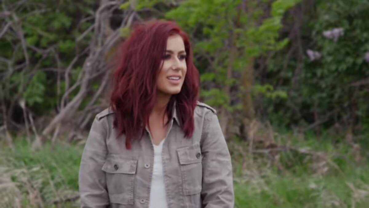 Chelsea Houska on Teen Mom 2.