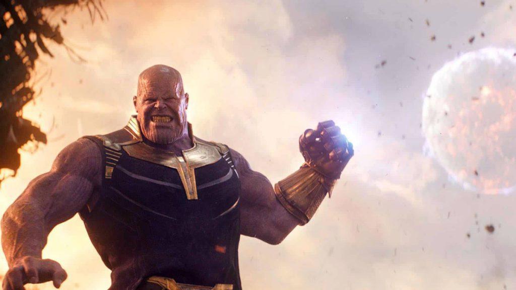 Thanos in The Eternals MCU.