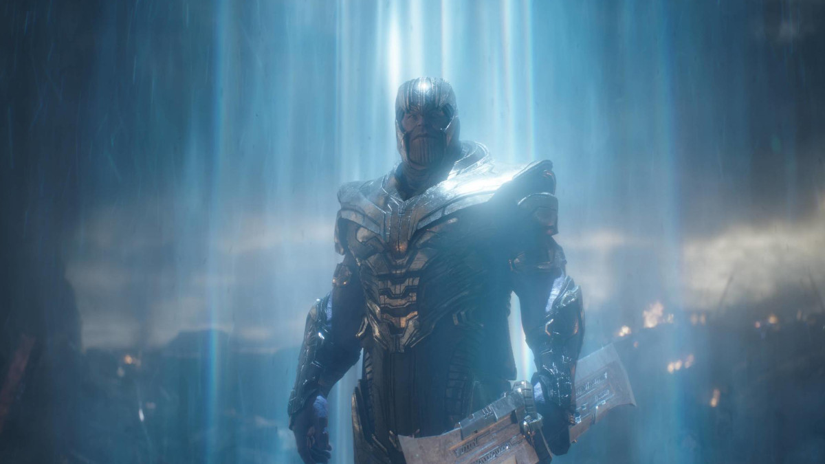 Thanos in The Eternals featured.