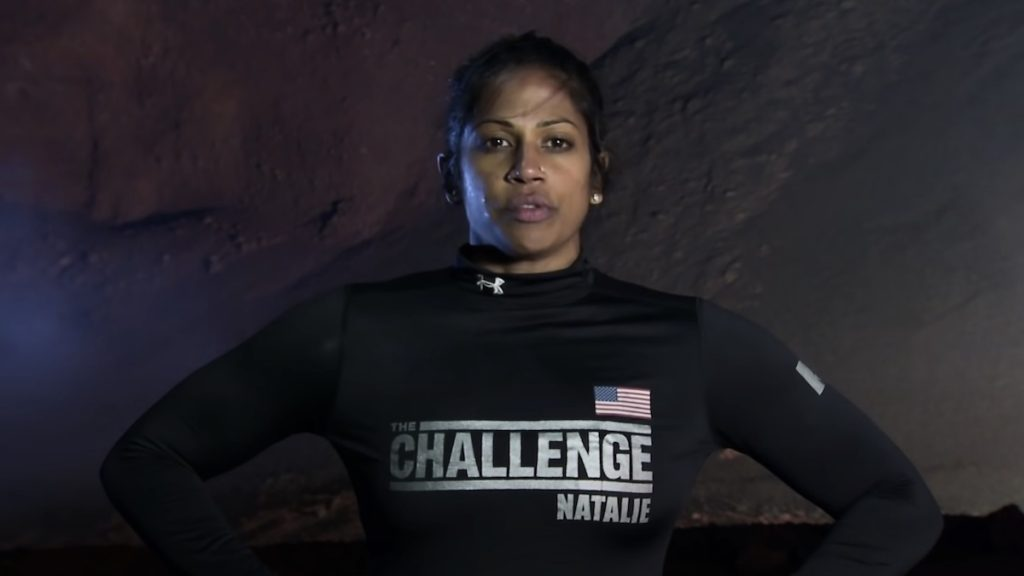 why did natalie anderson leave the challenge double agents