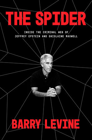 Cover of the book The Spider featuring a photo of Jeffrey Epstein.