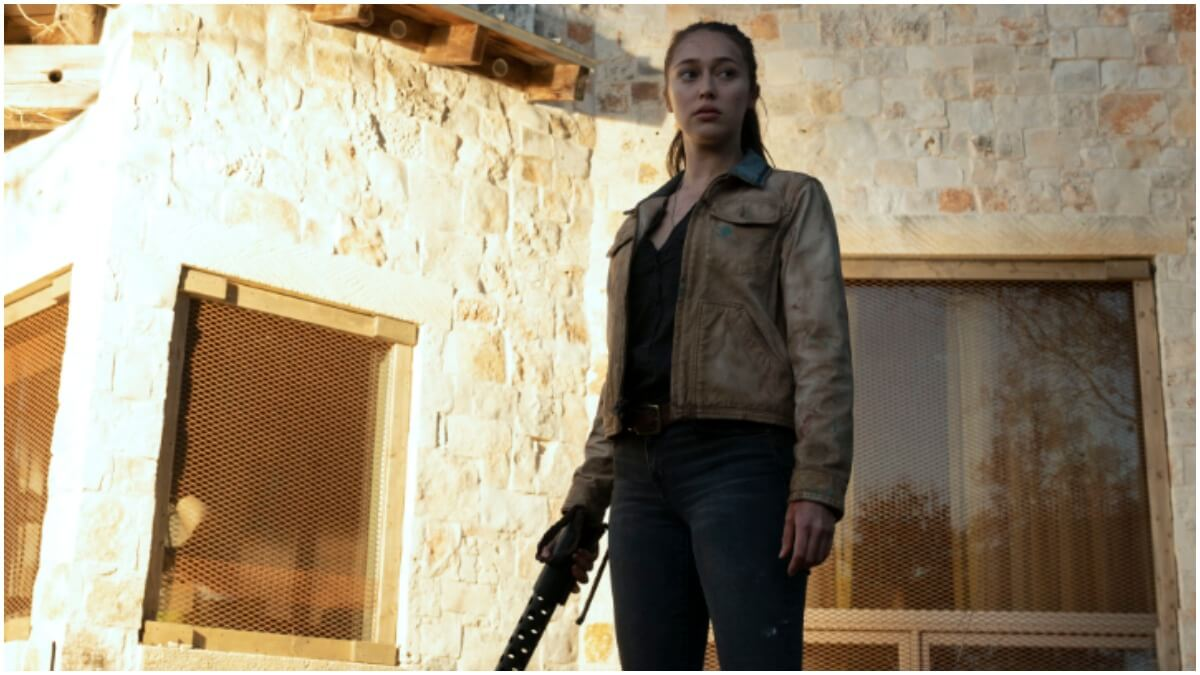 Alycia Debnam-Carey stars as Alicia, as seen in Episode 7 of AMC's Fear the Walking Dead Season 6
