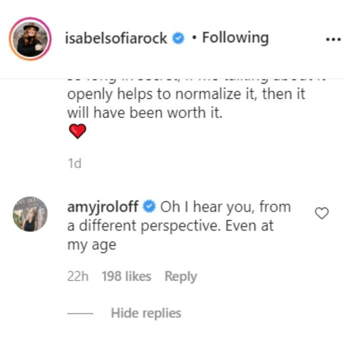 Isabel Sofia Rock on Instagram