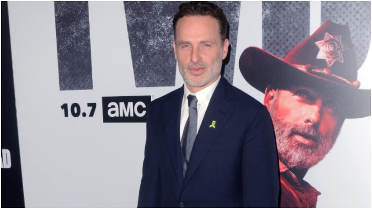 Andrew Lincoln stars as Rick Grimes in The Walking Dead TV series and movies
