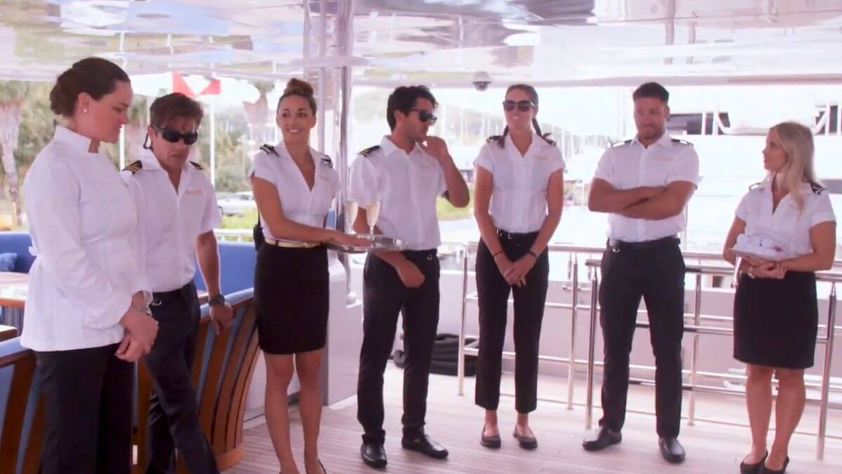 One crew member did not attend the Below Deck Season 8 reunion.