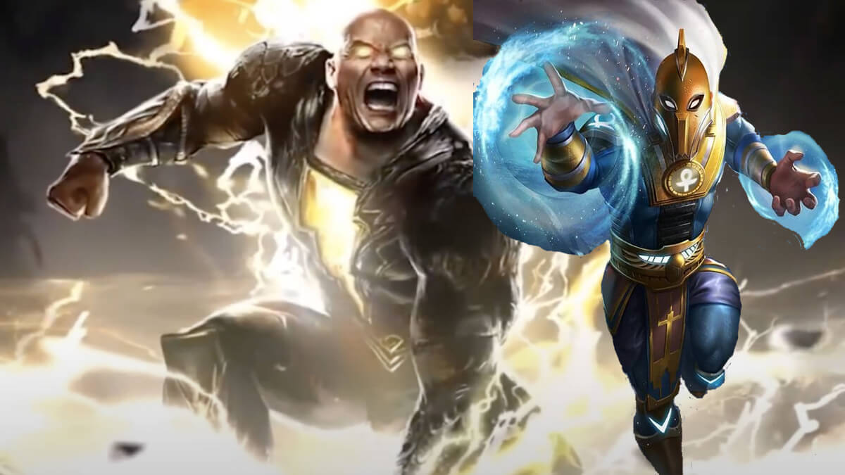 Black Adam and Doctor Fate