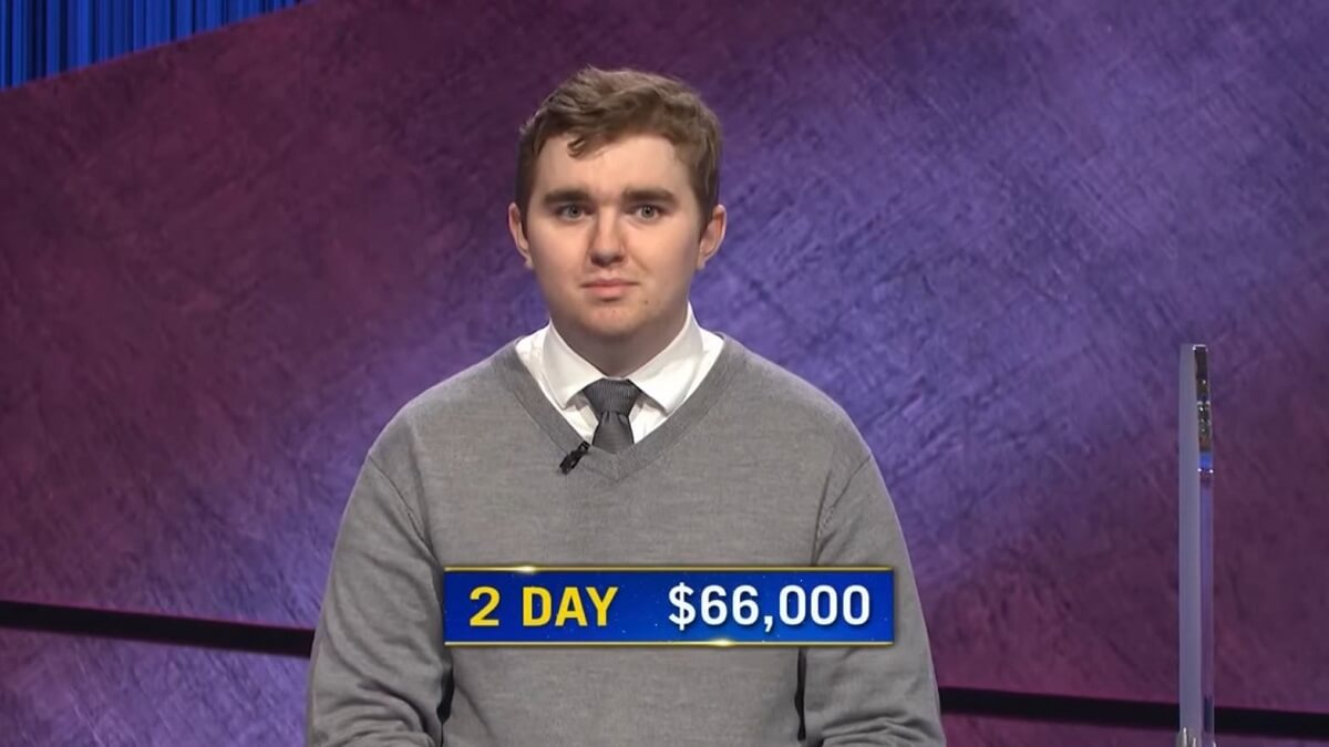Brayden Smith on Jeopardy