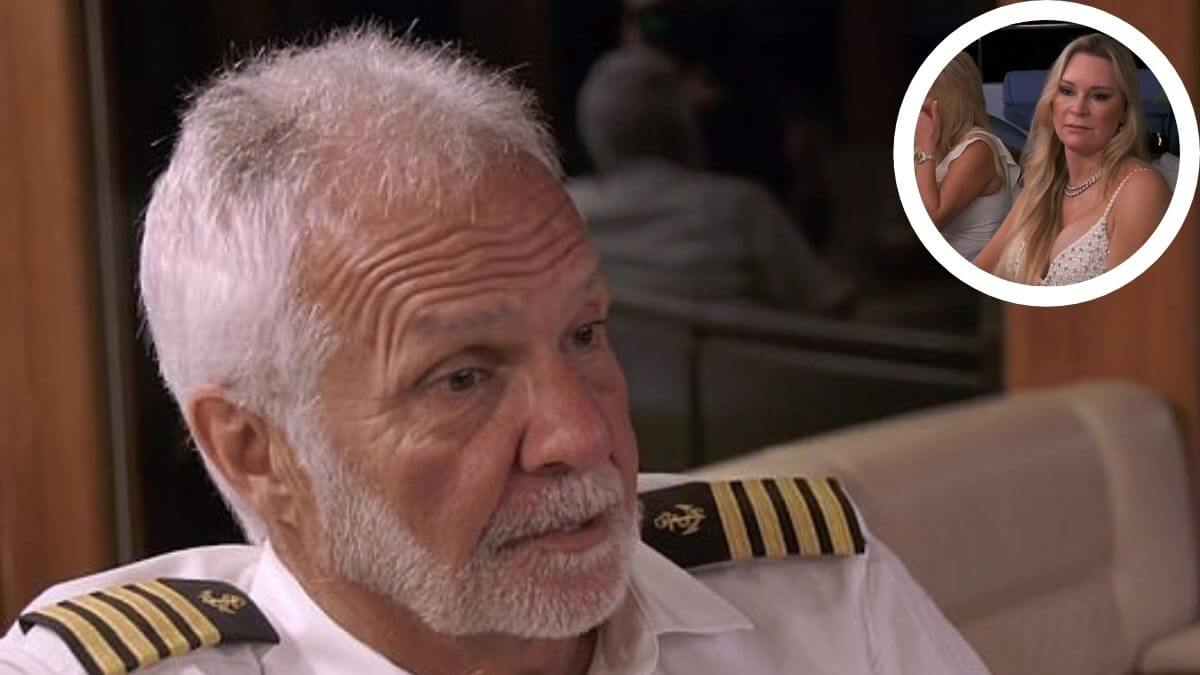 Below Deck's Captain Lee opens up about talking to charter guests about son Joshua.