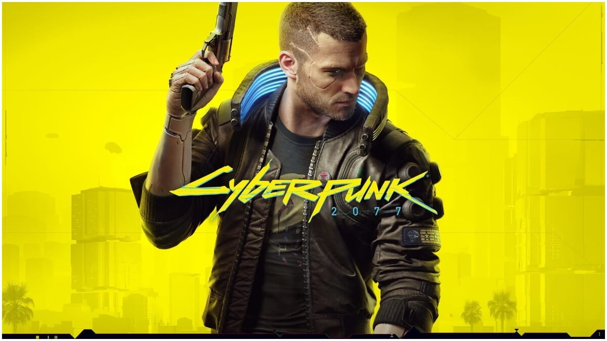 Promotional image for CD Projekt Red's Cyberpunk 2077
