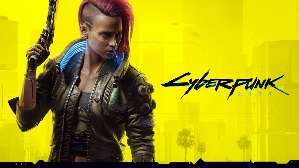 Promotional image for CD Projekt Red's game, Cyberpunk 2077