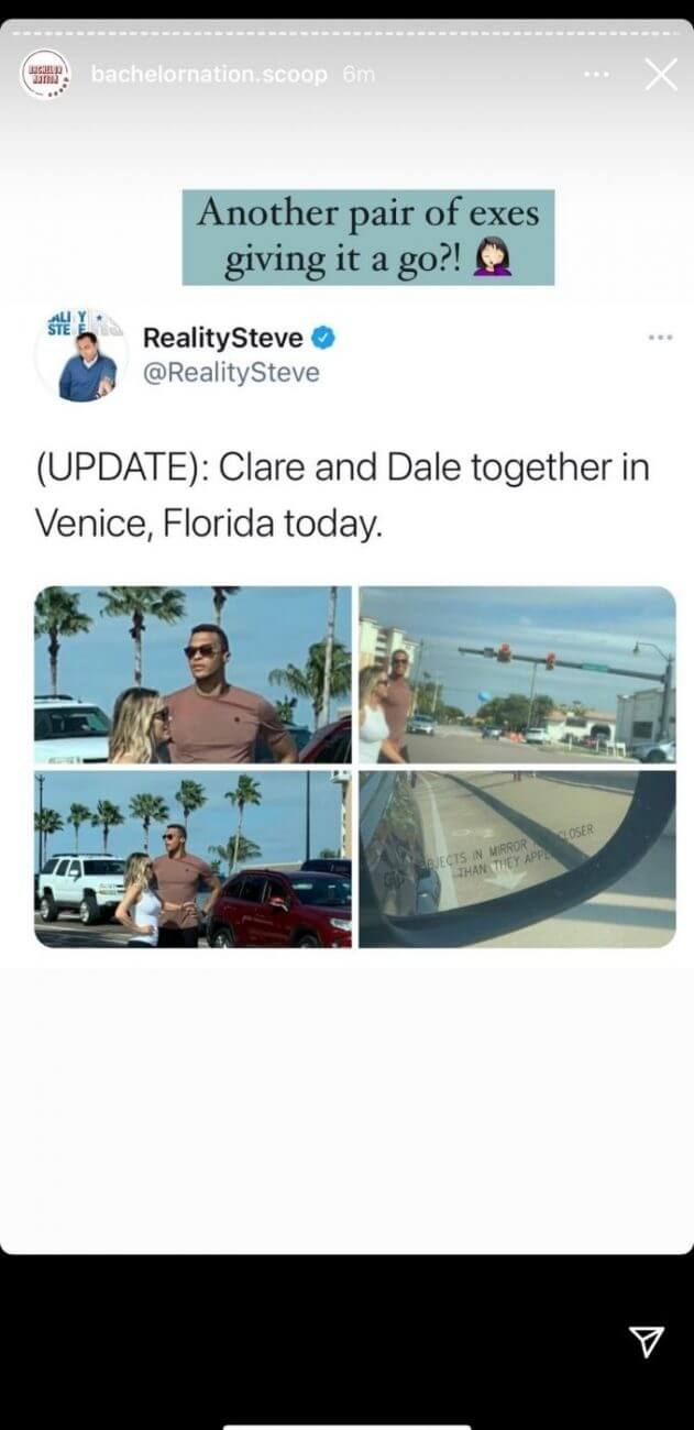 Dale Moss and Clare Crawley