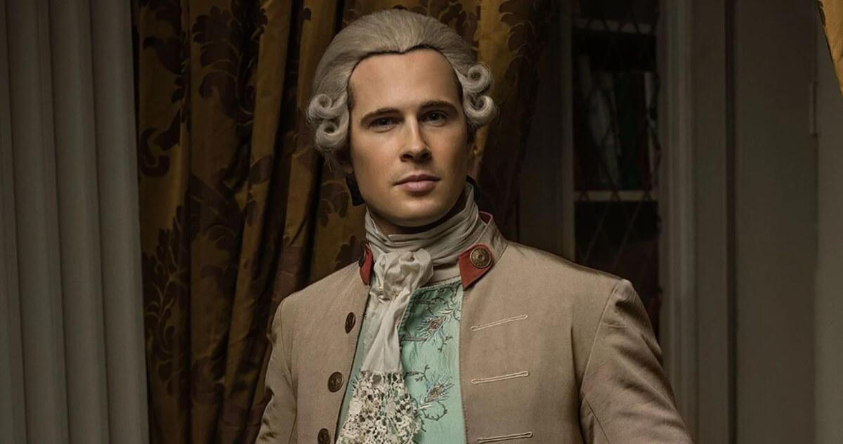 David Berry stars as John Grey in Starz's Outlander