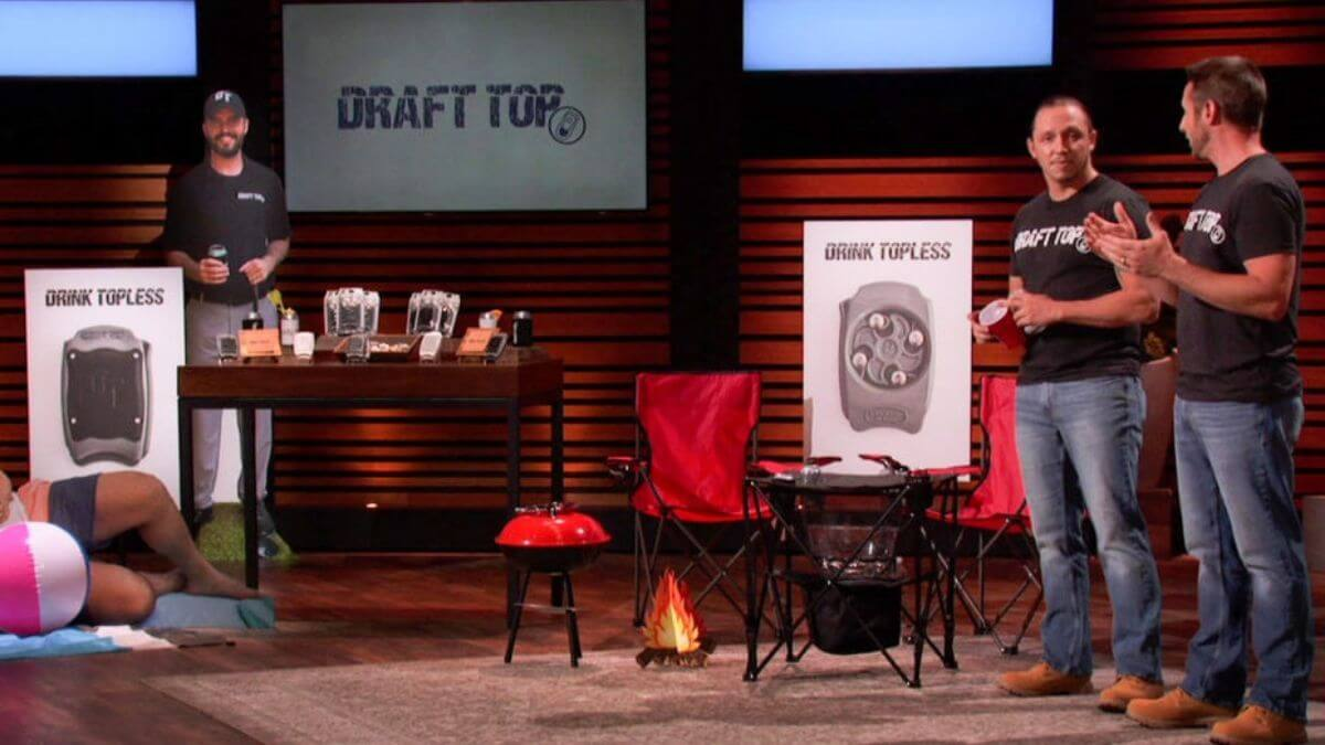 What is Draft Top on Shark Tank?