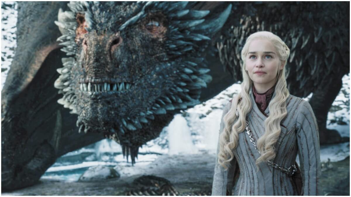 Emilia Clarke stars as Daenerys Targaryen in HBO's Game of Thrones