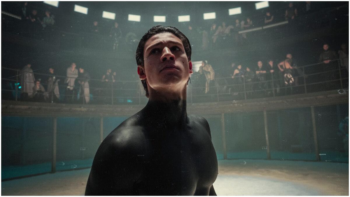 Emilio Sakraya stars as Kiano in Netflix's Tribes of Europa