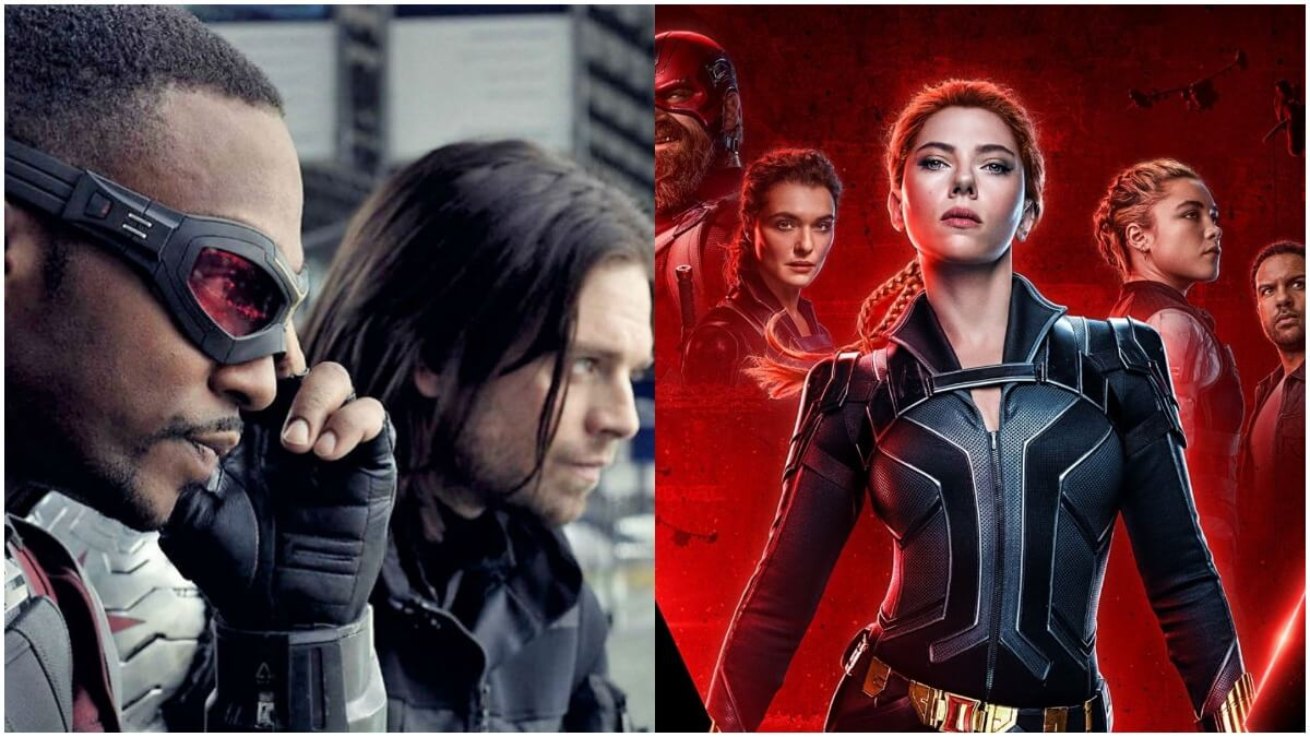 Falcon Winter Soldier and Black Widow