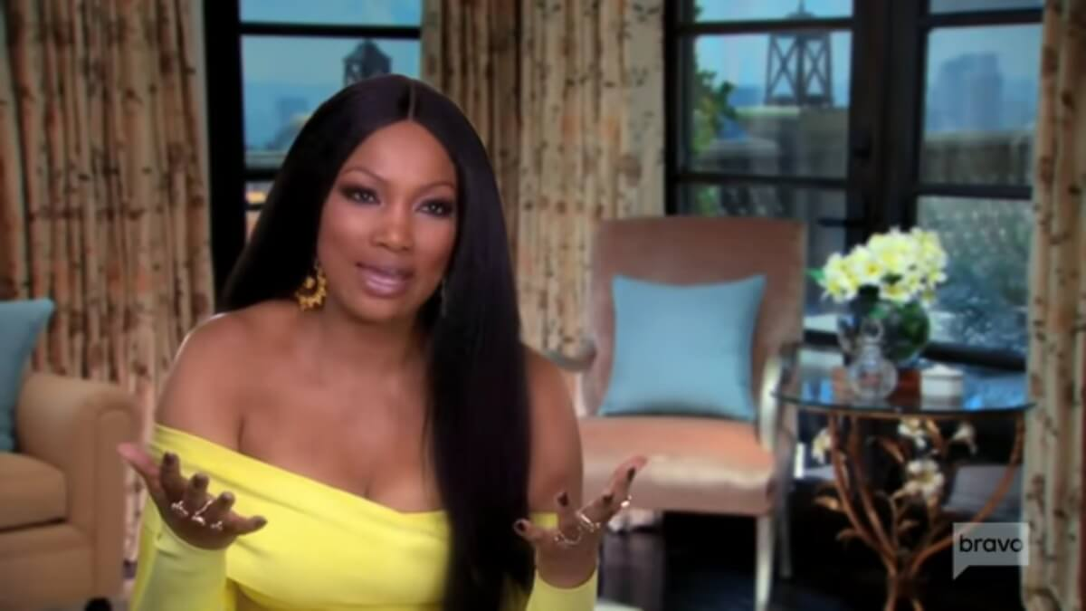 Garcelle Beauvais in a RHOBH confessional.