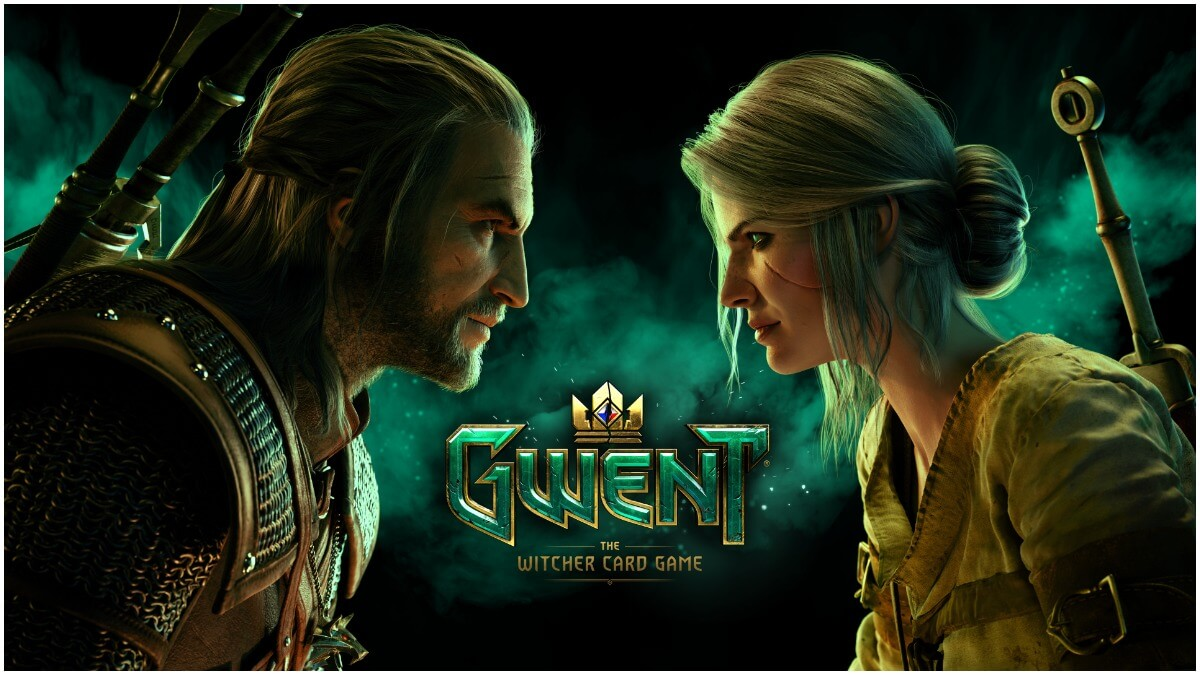 Key artwork for CD Projekt Red's Gwent The Witcher Card Game