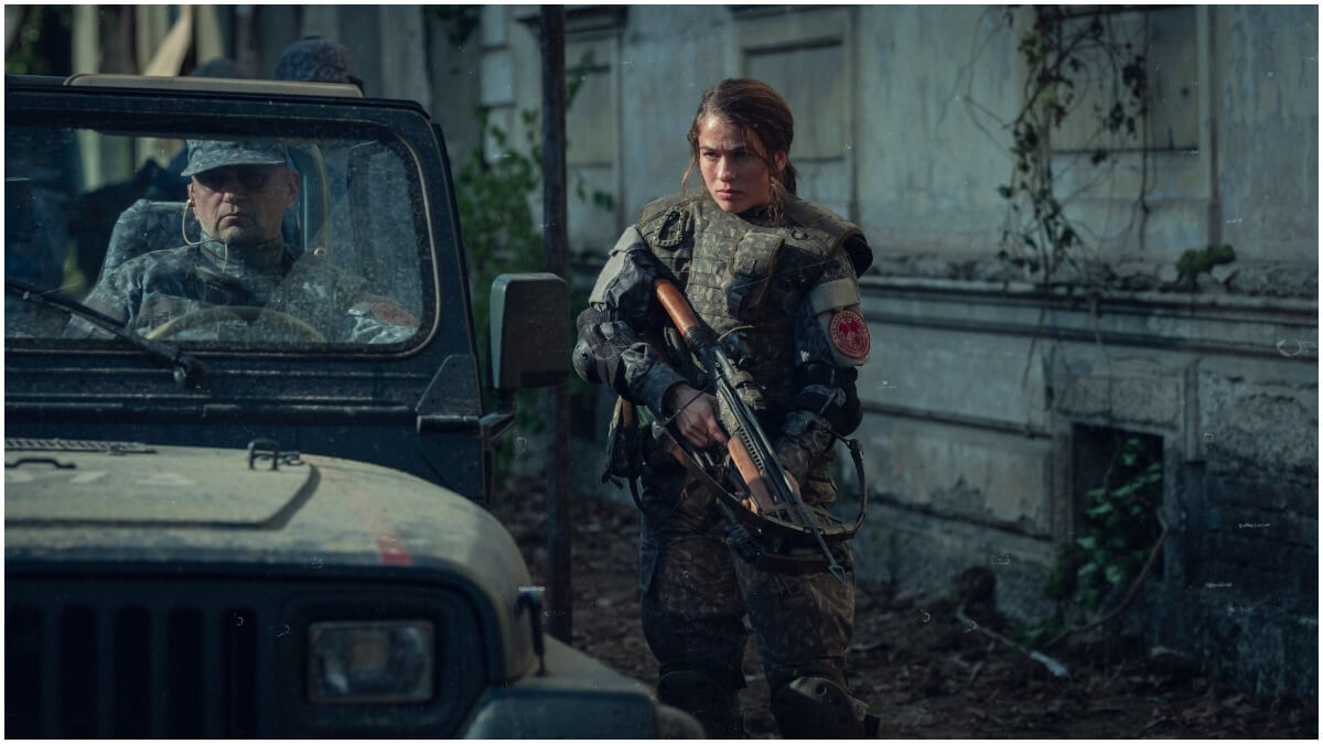 Henriette Confurius stars as Liv in Netflix's Tribes of Europa