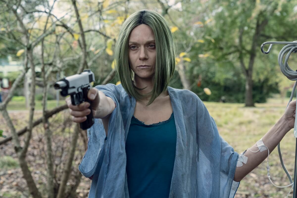 Hilarie Burton stars as Lucille, as seen in Episode 22 of AMC's The Walking Dead Season 10C